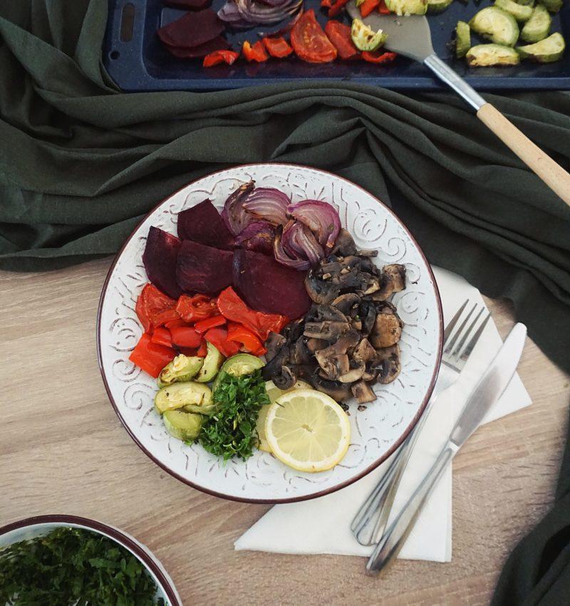 Ciuperci sote cu legume Papakit Meniu
